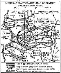 Минская операция 1944 года