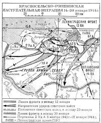 Красносельско-Ропшинская операция 1944 года