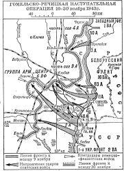 Гомельско-Речицкая операция 1943 года