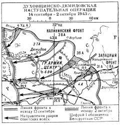 Духовщинско-Демидовская операция 1943 года
