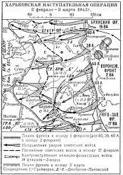 Харьковская наступательная операция 1943 года