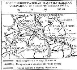 Ворошиловградская операция 1943 года