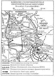 Клинско-Солнечногорская оборонительная операция 1941 года