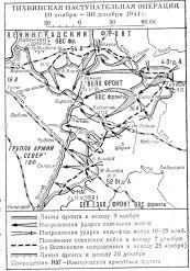 Тихвинская наступательная операция 1941 года
