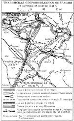 Тихвинская оборонительная операция 1941 года