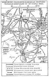 Можайско-Малоярославецкая операция 1941 года
