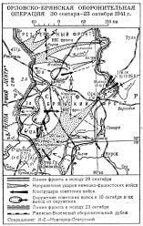 Орловско-Брянская операция 1941 года