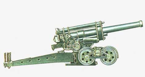 210-мм гаубица 210/22 mod.35 1935