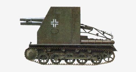 150-мм гаубичная самоходная установка sIG-33 1939