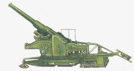 305-мм гаубица Бр-18 1940