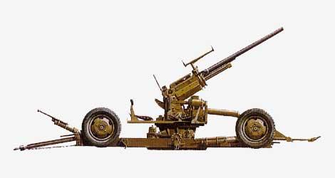 37-мм зенитная пушка М1А2 Браунинг 1927
