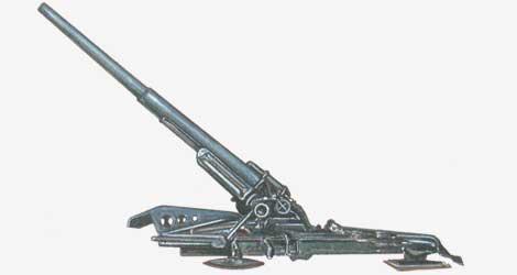 211-мм пушка К-38 1938