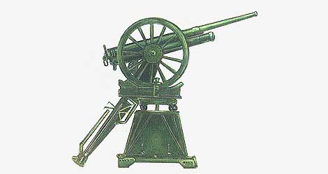 76,2-мм зенитная пушка установка Иванова 1916