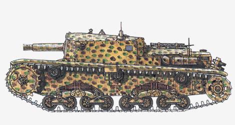 75-мм противотанковая самоходная установка Da 75/18 1941