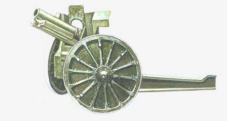 105-мм пушка-гаубица Bourges (Бурже) 1935