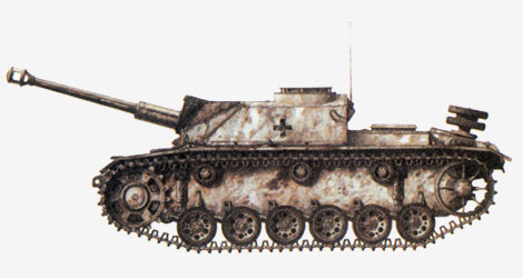 75-мм самоходная артиллерийская установка StuG IV 1943