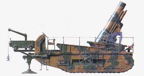 280-мм мортира St.Chamond 1918