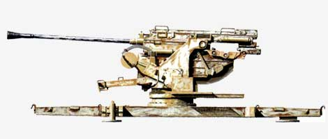 50-мм зенитная пушка Flаk.41 1941