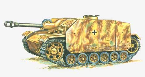 150-мм гаубичная самоходная установка «Bison» 1942