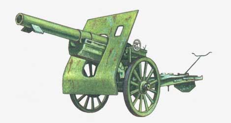 152-мм осадная пушка обр. 1910