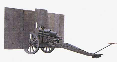 65-мм горная пушка 65/17 mod.13 1913