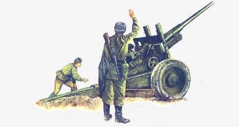 122-мм корпусная пушка А-19 1931