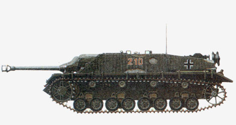 75-мм противотанковая самоходная установка «Jдgdpanzer IV» («Ягдпанцер» IV) 1944