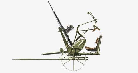 20-мм зенитная пушка Polsten (Полстен) 1937