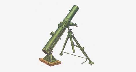 200-мм реактивный миномет тип 4