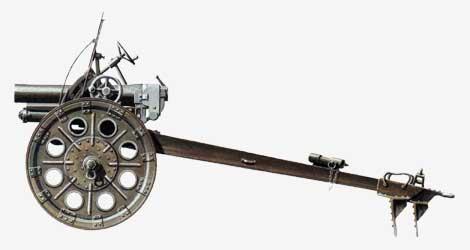 70-мм батальонная пушка Тип 92 1932