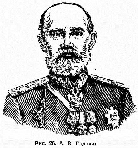 Рис. 26. А. В. Гадолин